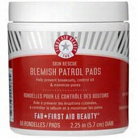 First Aid Beauty Skin Rescue Blemish Control Pads 60 ct