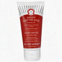 First Aid Beauty Skin Rescue Purifying Mask with Red Clay 3 oz
