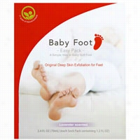 Baby Foot Exfoliant Foot Peel 1 ct