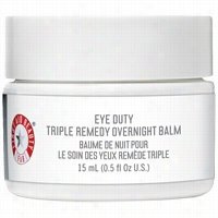 First Aid Beauty Eye Duty Triple Remedy Overnight Balm 0.5 oz