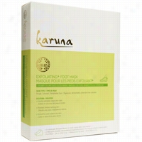 Karuna Exfoliating Foot Mask 4 ct
