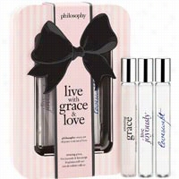 Philosophy Live with Grace and Love Rollerball Trio 3 ct