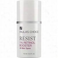 Paulas Choice Resist 1 Percent Retinol Booster 0.5 oz