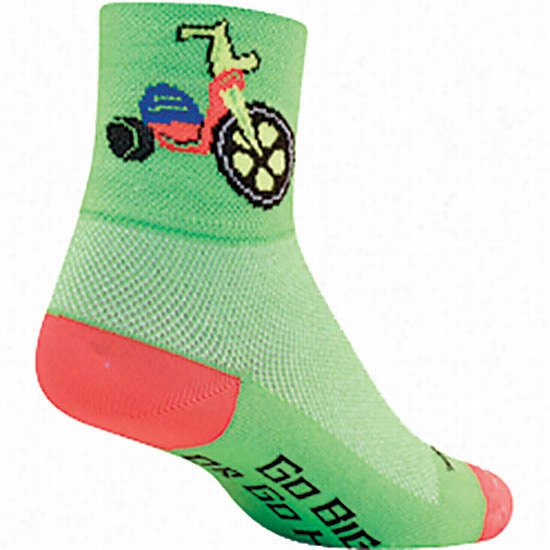 Sock Guy Bigger Wheels Ankle Sock