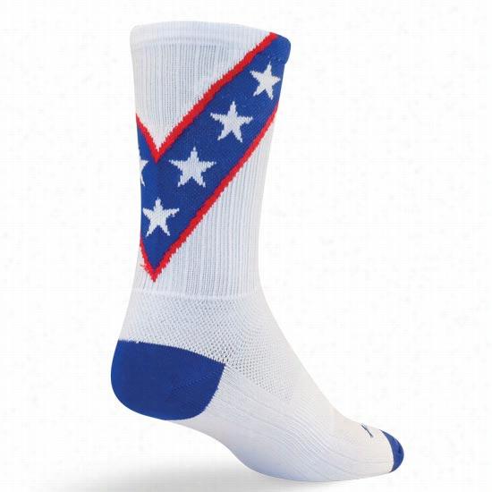 Sock Guy Dare Devil Crew Sock
