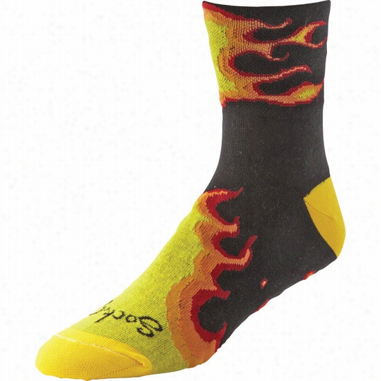 Sock Guy Fireball Sock