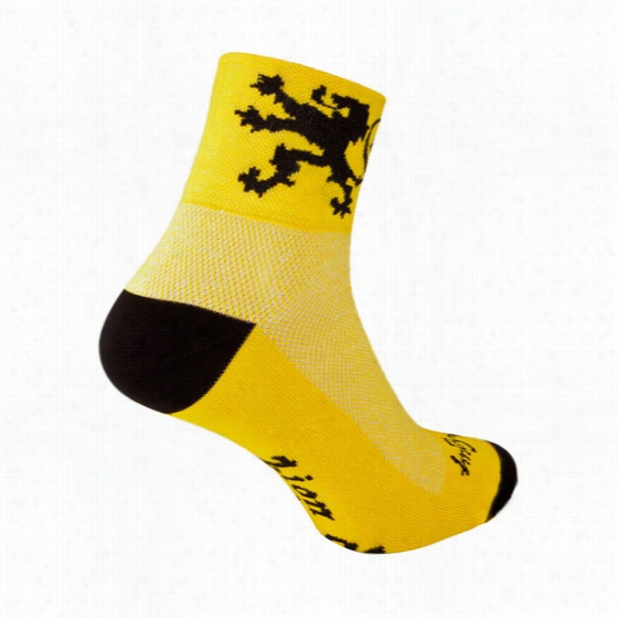 Sock Guy Lion of Flanders Ankle Sock
