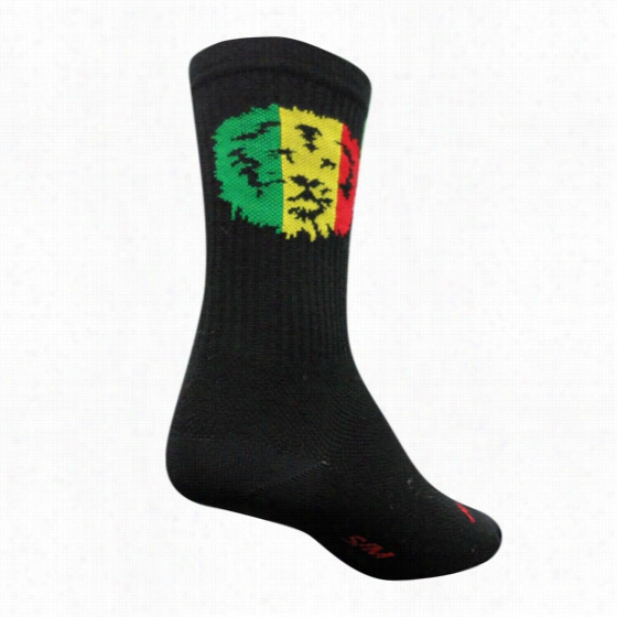 Sock Guy Lion of JA Crew Sock