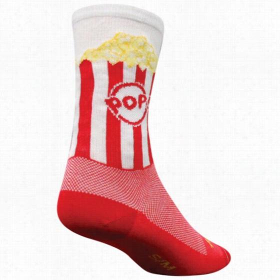 Sock Guy Popcorn Sock