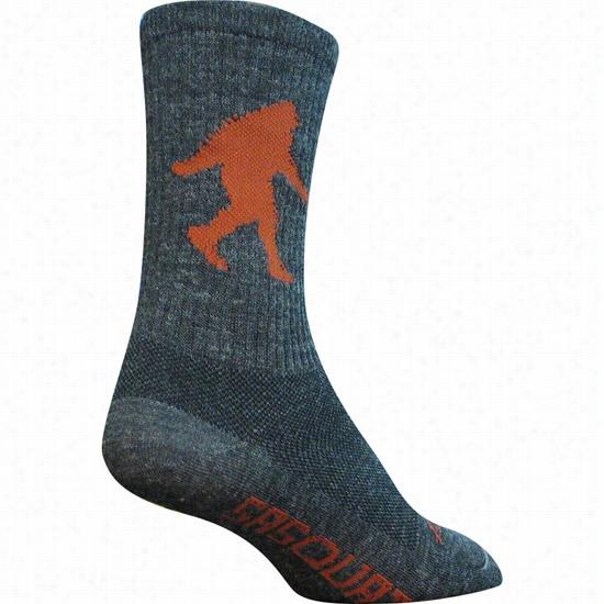 Sock Guy Sasquatch Crew Sock