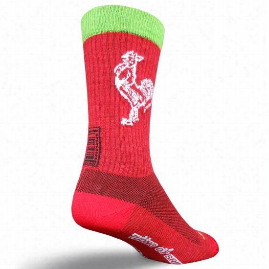 Sock Guy Sriracha Crew Sock