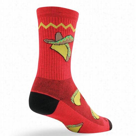 Sock Guy Taco Tuesday Crew Sock