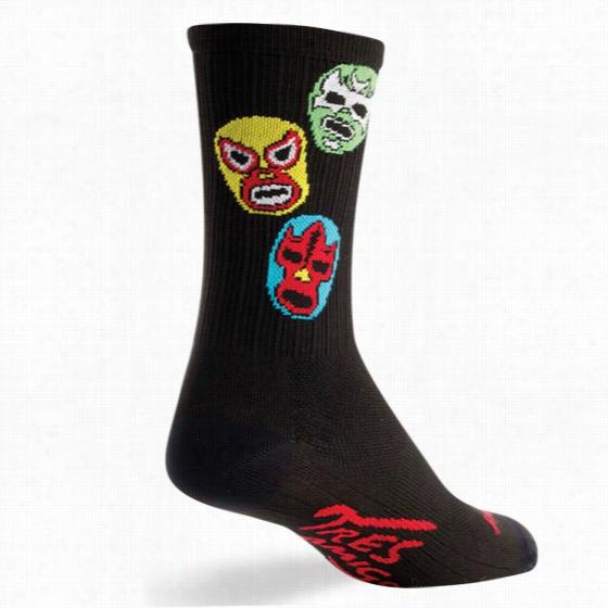 Sock Guy Three Amigos Crew Sock