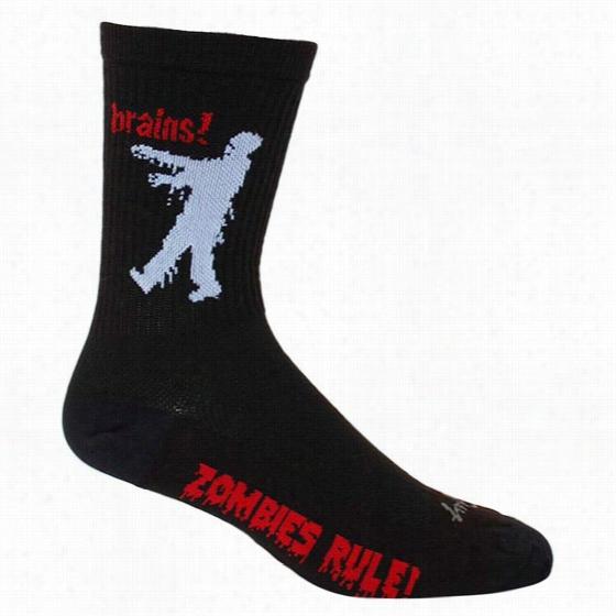 Sock Guy Zombie Crew Sock