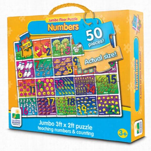 Jumbo Floor Puzzle - Numbers