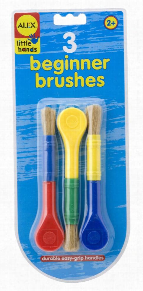 Beginner Paint Brush Set/3-pc