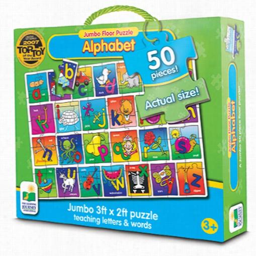 Jumbo Floor Puzzle - Alphabet