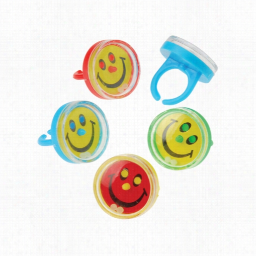 Smile Puzzle Rings-36 Pieces