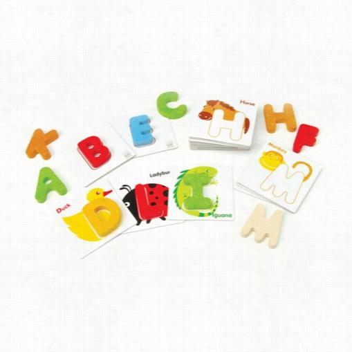 Alphabet Matching Puzzle Sets