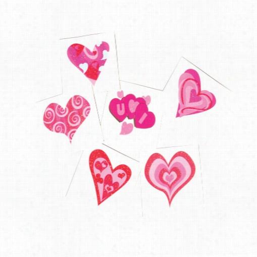 Heart Glitter Tattoos