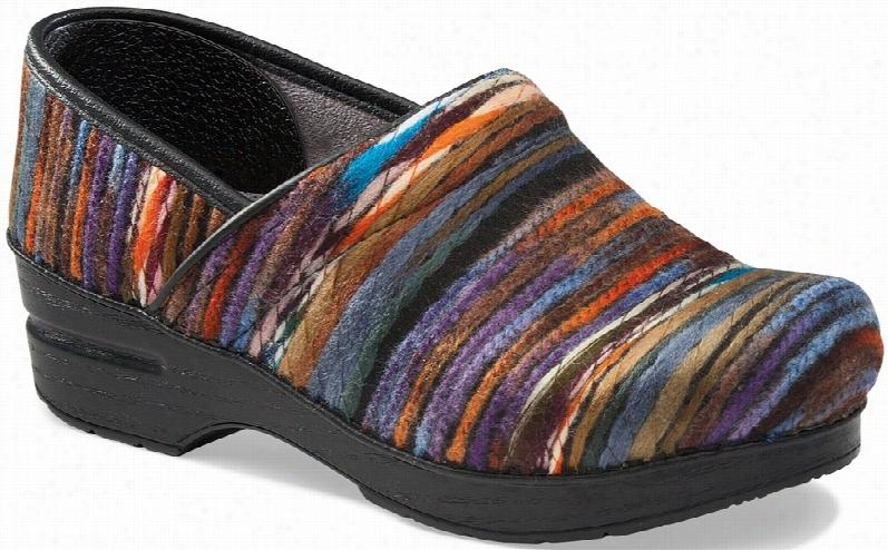 Dansko Professional Clog Yarn Fabric Sz W 12-12h,M