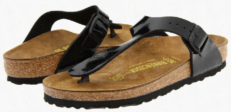 Gizeh Sandal Black Patent Sz W11-11h M9-9h