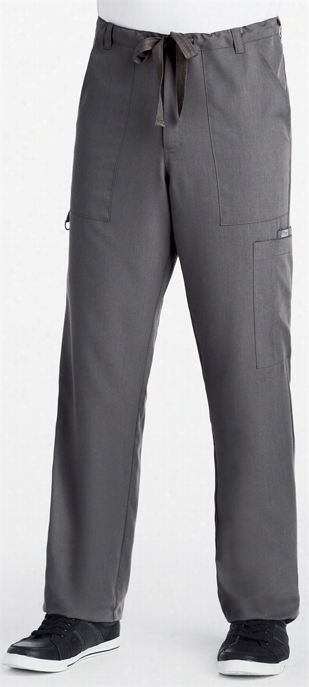 Grey's Anatomy Mens Pant Black Small Tall