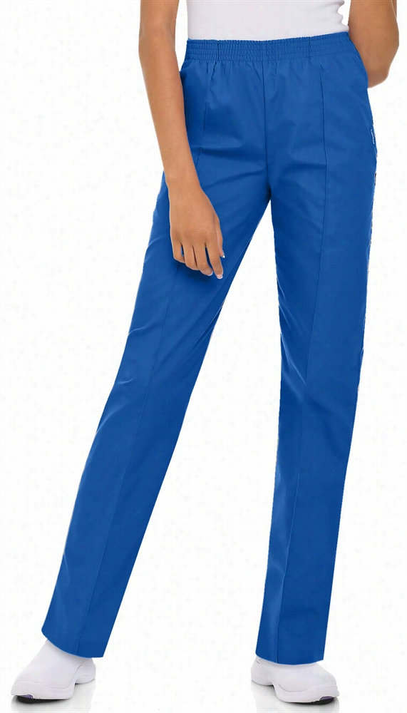 Ladies Pullon Pant Royal 2x-Large Petite