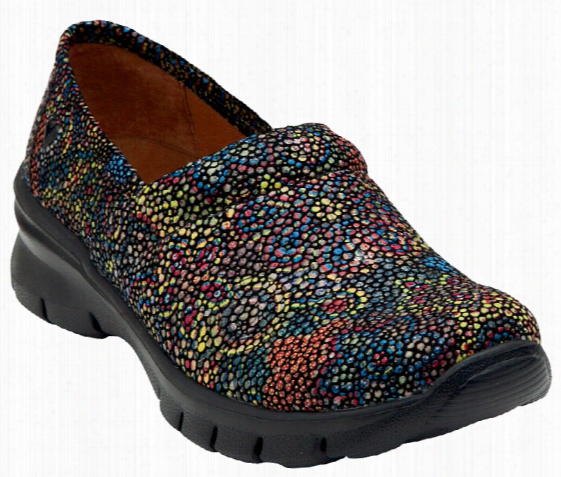 Libby Slip On Shoe Starry Night Black Sz 10