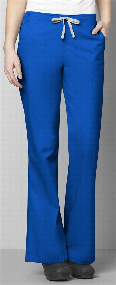 Womens Flare Leg Pant Light Turquoise Xx-Small